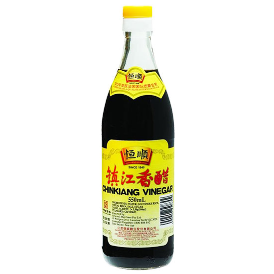 Hengshun Black Rice Vinegar 550ml (Chinkiang)
