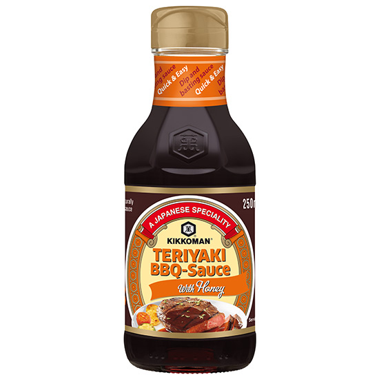 Kikkoman Teriyaki BBQ Sauce With Honey 250ml