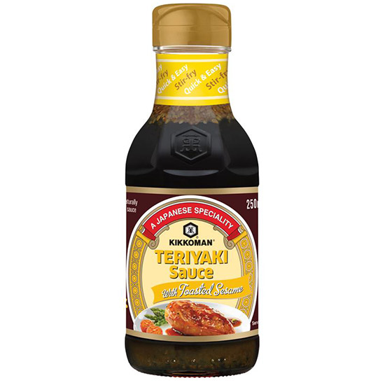 Kikkoman Teriyaki Sauce With Toasted Sesame 250ml