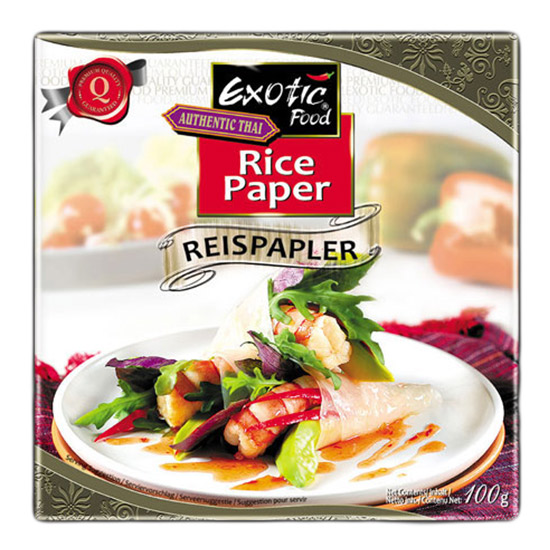 Exotic Food Rice Paper 22cm - 100gr