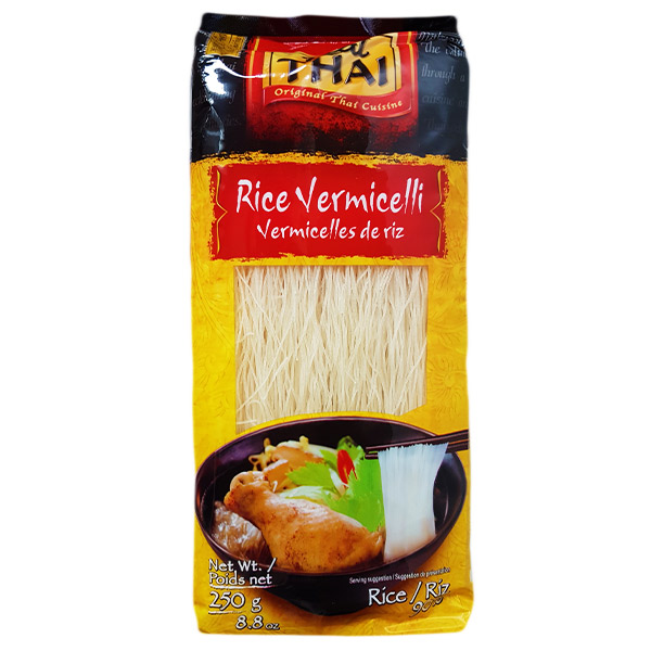 Real Thai Rice Vermicelli 250gr