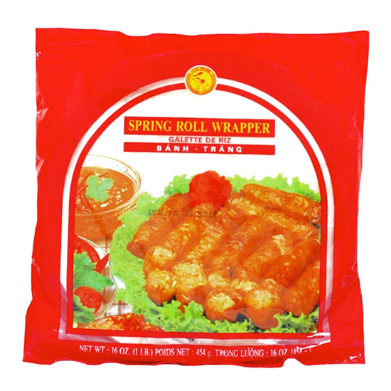 TAS Rice Paper (For Deep Frying) 22cm 454gr