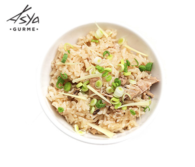 Japanese Style Rice with Tuna